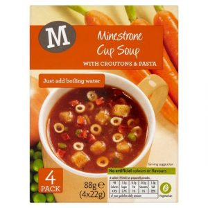 Morrisons Minestrone Cup Soup With Croutons-0