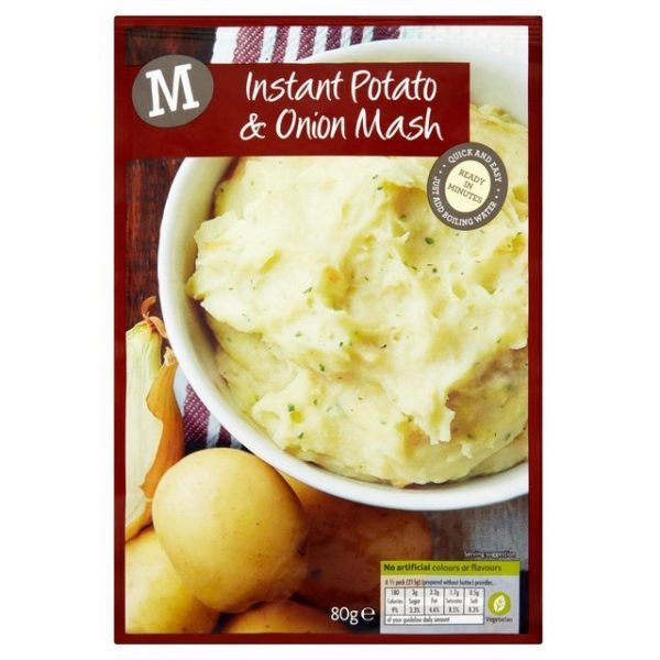 Morrisons Quick and Easy Plain Mash-20631