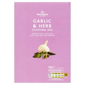 Morrisons Garlic & Herb Stuffing-0