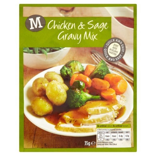 Morrisons Chicken & Sage Gravy Mix-20472
