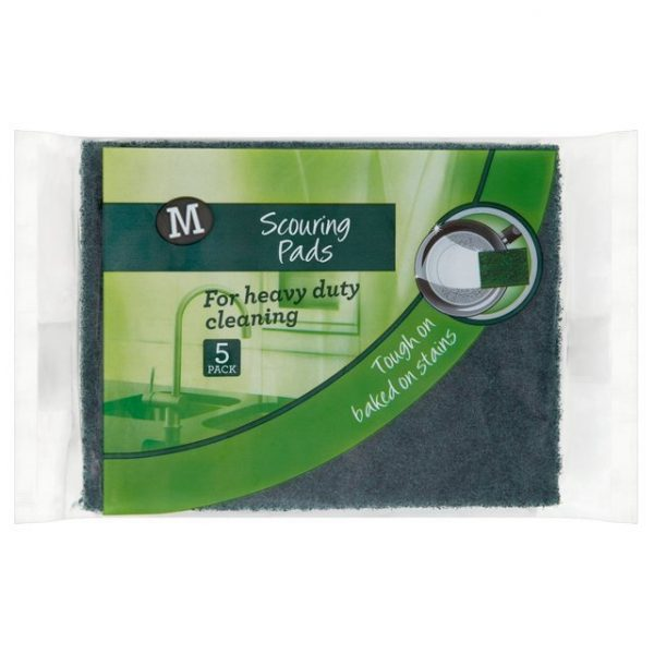 Morrisons Scouring Pads 5PK-0