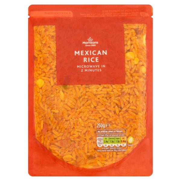 Morrisons Mexican Micro Rice-20580