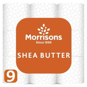 Morrisons Even Soft Butter Tissue Roll -0