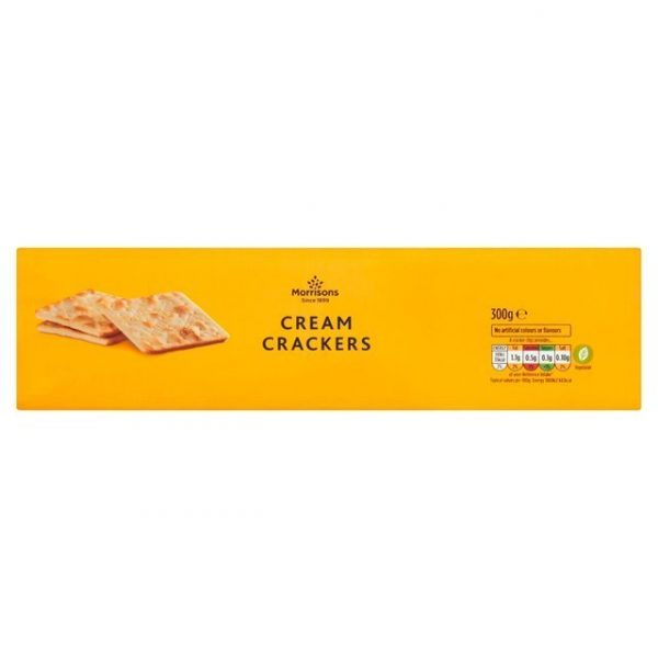 Morrisons Cream Crackers-0