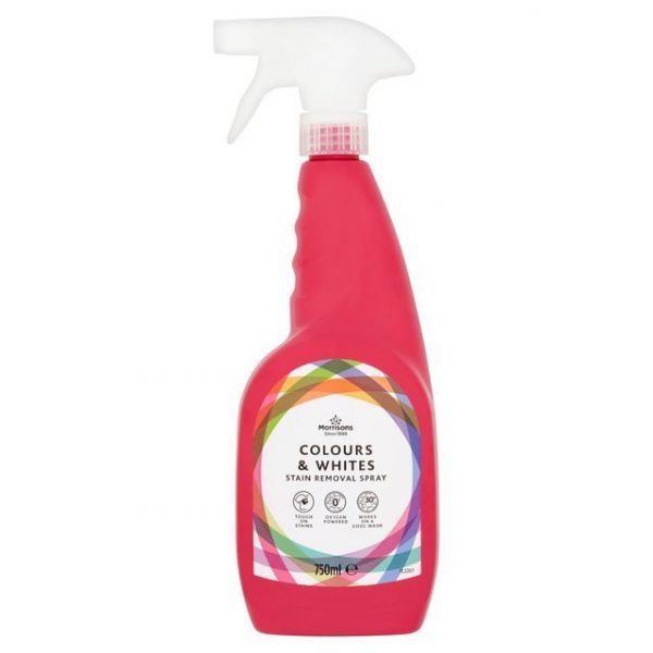 Morrisons Colours & Whites Stain Removal Spray-20490
