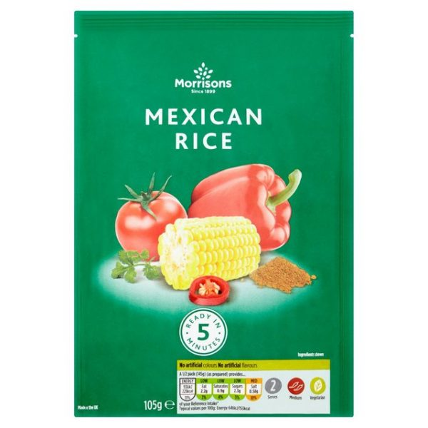 Morrisons Mexican Rice. 105g-0