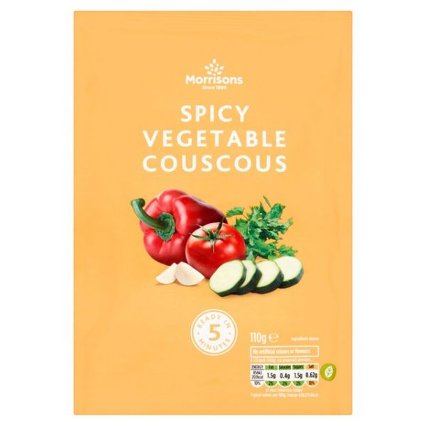 Morrisons Spicy Vegetable Cous Cous-20637