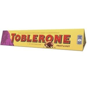 Toblerone fruit and nut 100g (swiss)-0