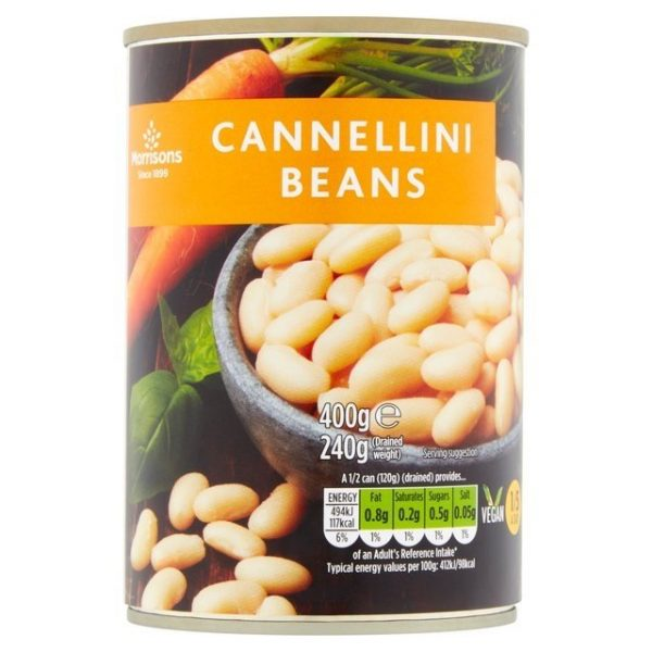 Morrisons Cannellini Beans In Water (400g) 240g-0