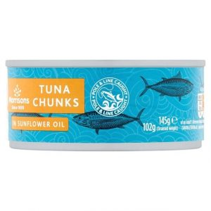 Morrisons tuna chunks 80g-0