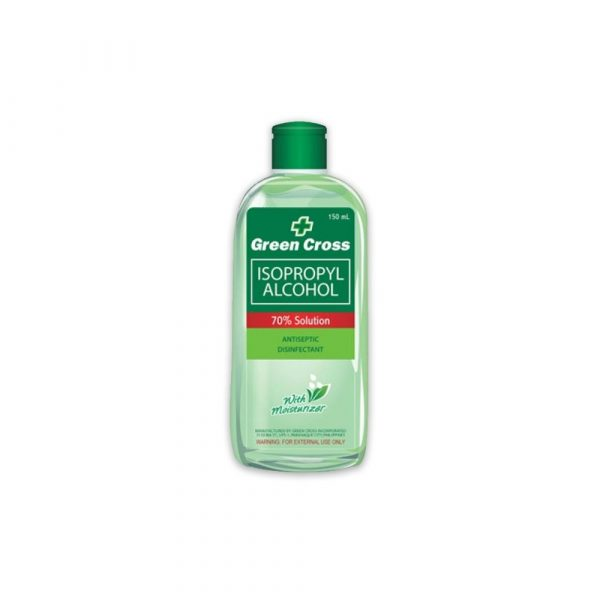 GreenCross 70% Alcohol Isoprophyl antiseptic disinfectant 150ml-0