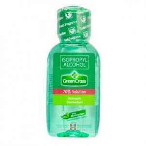 GreenCross 70% Alcohol Isoprophyl antiseptic disinfectant 60 ml-0