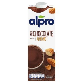 Alpro almond dark chocolate