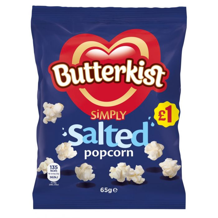 Butterkist Simply Salted Popcorn