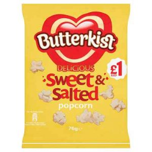 Butterkist Sweet and salted popcorn