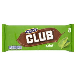 Mcvitie's Club Mint Chocolate Biscuit