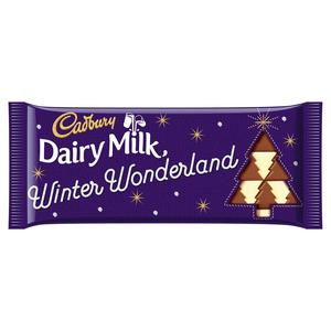 Cadbury Dairy Milk Winter Edition Chocolate